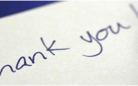 Aprender a dar las gracias nos ayuda a ser más felices