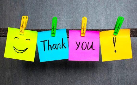 Las múltiples ventajas de dar las gracias