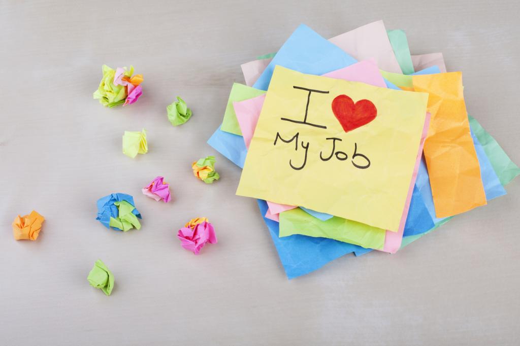 Como ser feliz no trabalho?
