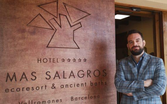 """Javier Pérez (Mas Salagros EcoResort & Ancient Baths): """"El gran éxito que hemos tenido es haber seleccionado las personas correctas"""""""