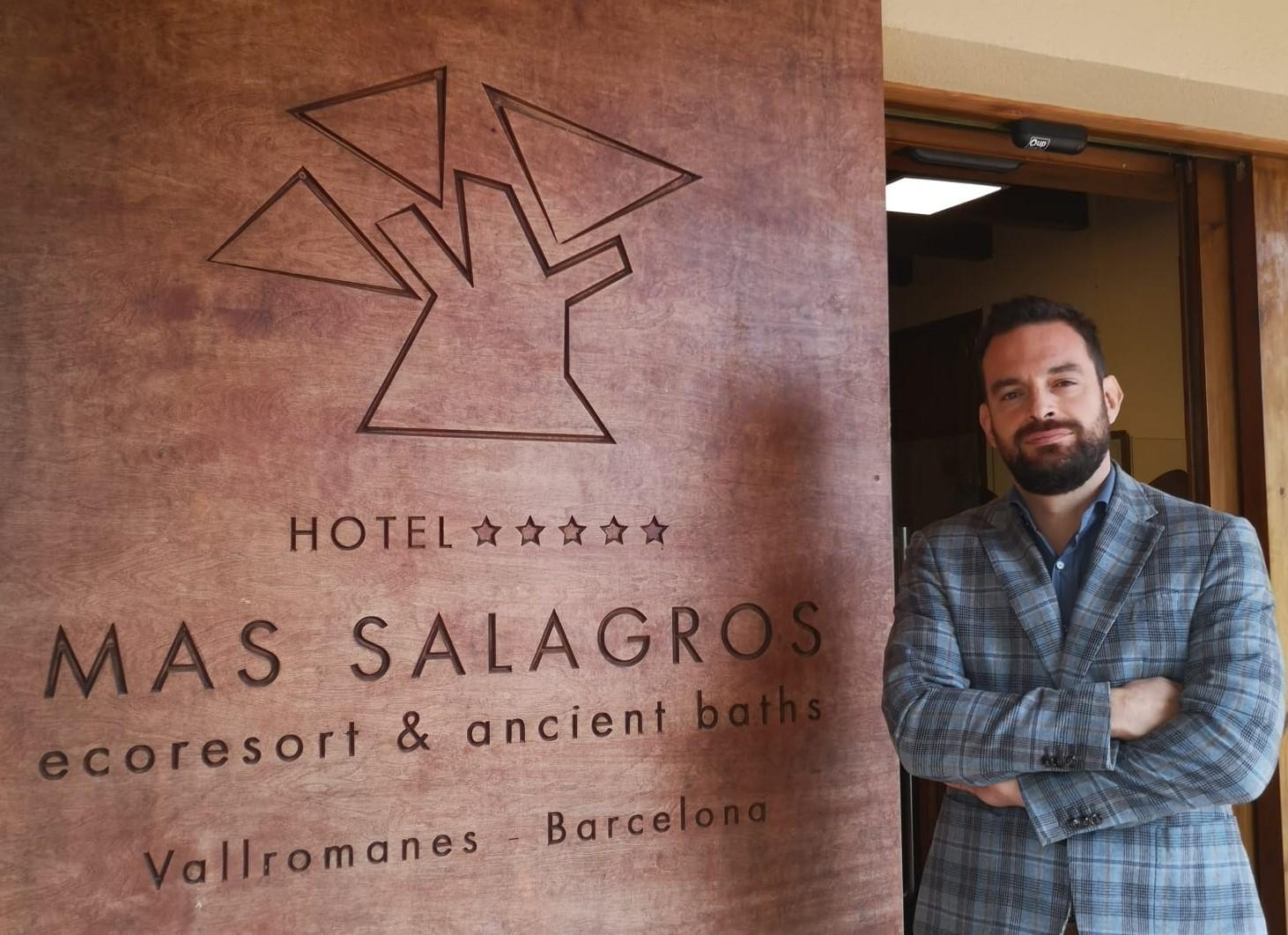 Javier Pérez (Mas Salagros EcoResort & Ancient Baths): «El gran éxito que hemos tenido es haber seleccionado las personas correctas»