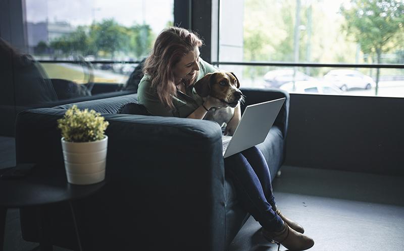 Joana Recharte (Barkyn): «Solo vemos ventajas en que nuestros perros nos acompañen mientras trabajamos»